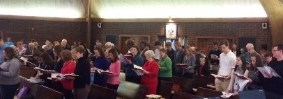 Traditional Service in the Sanctuary